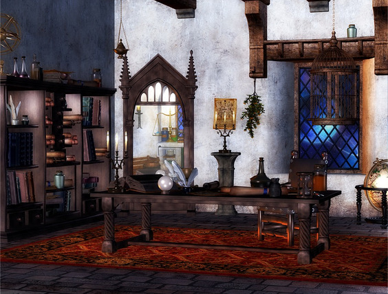 alchemists laboratory