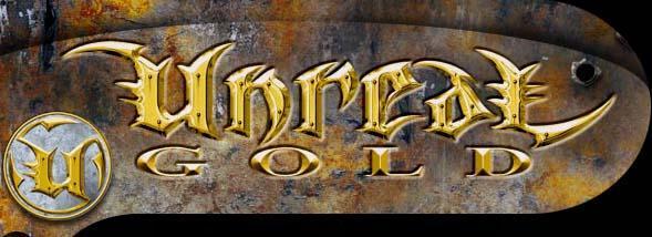 unreal gold logo